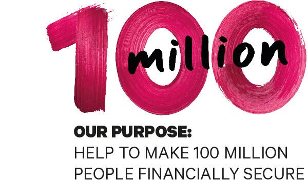 Redington help make 100m people financially secure