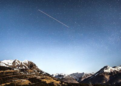 Meteor Shower or Big Bang