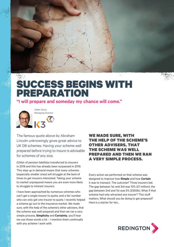 Success Begins with Preparation